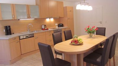 Holiday house 'Valley View' - Part of the kitchen