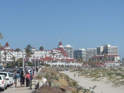 1. Welcome to Historic Coronado -- Home of the #1 Rated Beach in America