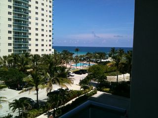 Hollywood Beach condo photo - view from balcony