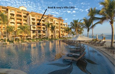 Villa La Estancia OCEANFRONT!! - Brad & Joey, Villa 1302  Closest to the Ocean