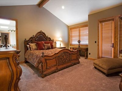 One of our beautiful master suites.
