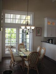 Tavernier house photo - Great room features 2 dining tables seat up to 10 with oceanfront dining!