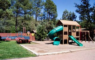 Payson cabin photo - Playground On-Site at the Kohl's Ranch Lodge