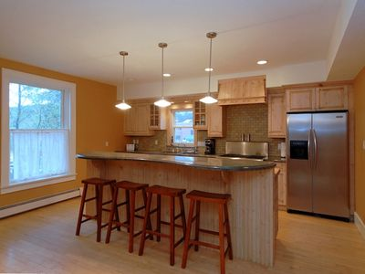 Entertain family and friends in the fully furnished remodeled kitchen!