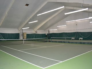 Bushkill house photo - Indoor tennis courts