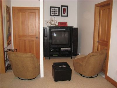 Old Town house rental - 1st Fl: Kids' Playroom with TV/DVD/XBOX and is adjacent to Twin Bedrooms