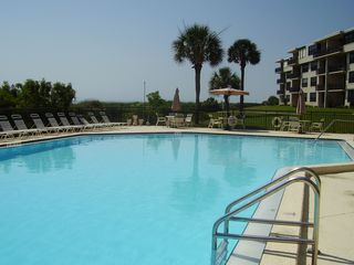St. Augustine condo photo - Quiet Lap Pool, Seagull Calls, Warm Sea Breezes