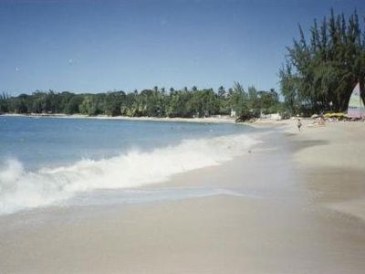 Enjoy the coral sandy beach and walk for miles.
