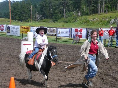 Special Needs Rodeo held every year in August at the Double Diamond Ranch