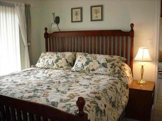 South Padre Island condo photo - Cozy king size bed