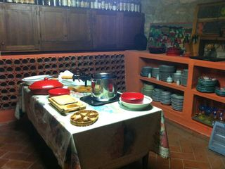 Chiusi villa photo - Next to kitchen a wine cellar where to store your food, and wine of course!