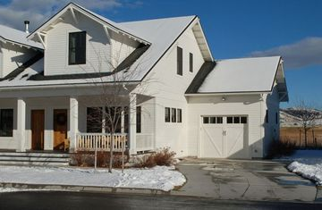 Bozeman townhome rental - Front of Townhouse