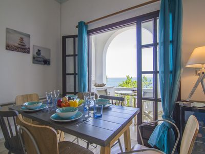"PaxosBlue Pure Traditional Sea View Villas. ""Selene"" 1st floor apartment."