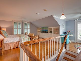 Key West house photo - The 5th bedroom has a comfortable seating area and a large flat screen TV.