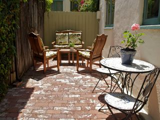 La Jolla cottage photo - Private patio