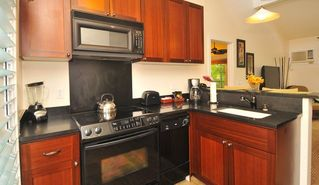 Lahaina condo photo - Fully equipped kitchen with new whirlpool appliance.