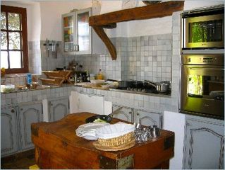 Gordes house photo - Kitchen in preparation for a feast!