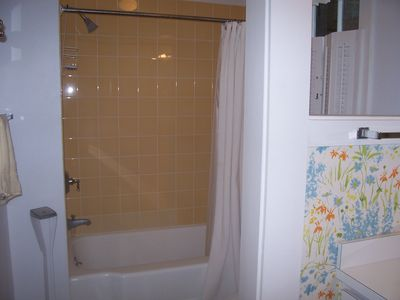 Main house shower bath