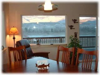 Livingston house photo - Have your meals with views out over the river!