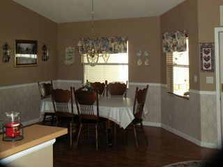 Okeechobee house photo - Dining area
