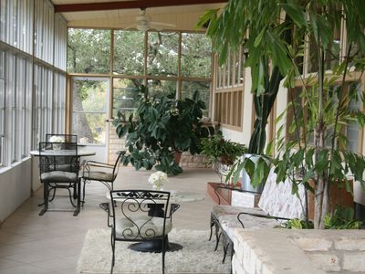 Austin house rental - SUN PORCH