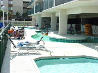 Windy Hill condo photo - Lazy River, Pool & Hot Tub