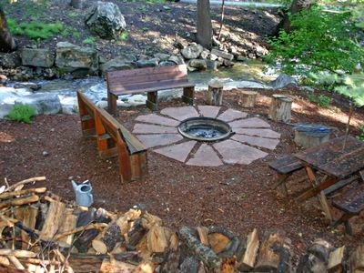 Firepit Access nearby for our guests