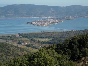 Orbetello and the lagoons