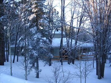 Pinetop cabin rental - Winter in Pinetop