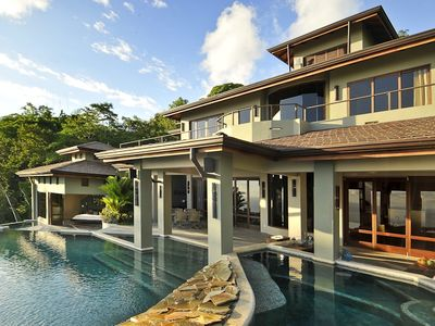 Dominical house rental - Wrap Around Infinity Pools and Terrace