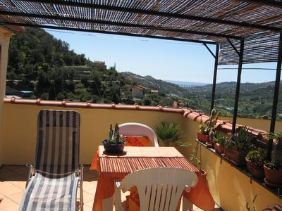 image for 2 private vacation apartments, semidetached house w/view of sea & mountains