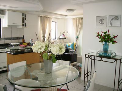 BELO SUITABLE -Next BEACH (70m) C / P VIEW / THE SEA -EXCLUSIVO P / COUPLES AND FAMILIES