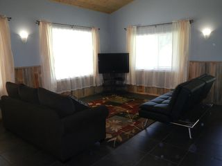 Tiller house photo - TV area