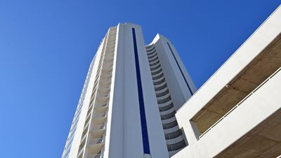 Spectacular Gulf Front Corner Unit With Windows Galore!!! Two Balconies!