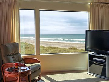 Pajaro Dunes condo rental - This really is the view from the living room!