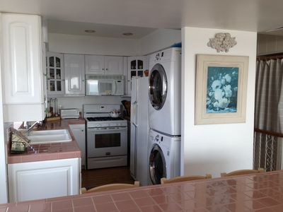 Kitchen with Washer & Dryer