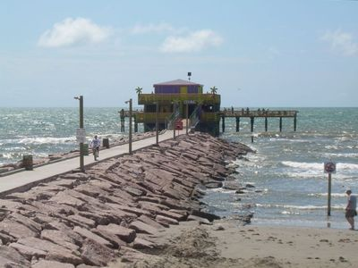 Fishing Pier Located Across from Condo
