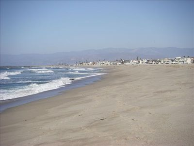 Oxnard house rental - Silverstrand Beach - quite possibly the nicest white sandy beach on the coast!