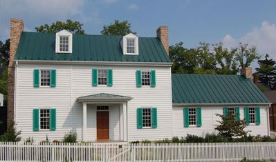 Restored 1840 House with Gardens in Historic Downtown