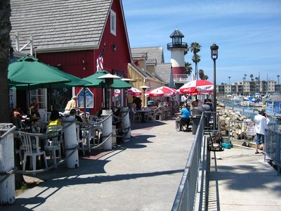 Tons of Fun at the Harbor. Enjoy casual or upscale dining.