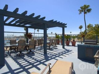 Oceanside condo photo - Common Patio Area