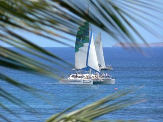 Maalaea condo rental - BOAT IN THE BAY!