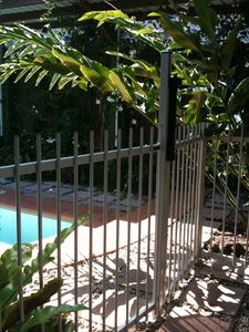 Blue Pools Beach House Cairns, Pool Gate,