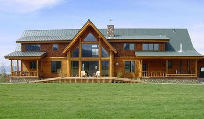 Alta house rental - Amazing Teton views on 40 private acres