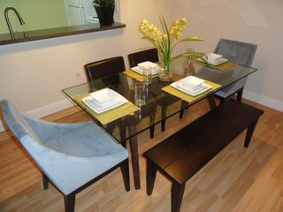 Sunny Isle condo photo - Dining Table with Seating for Six