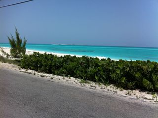 Great Exuma villa photo - This is the first & last beach you will see on your trip - ain't she beautiful?