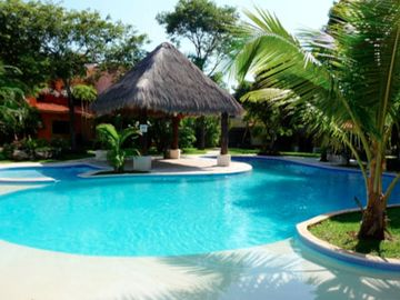 Playa del Carmen villa rental - Pool area