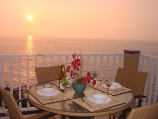 Kailua Kona condo photo - Breathtaking Sunsets from Large Private Lanai