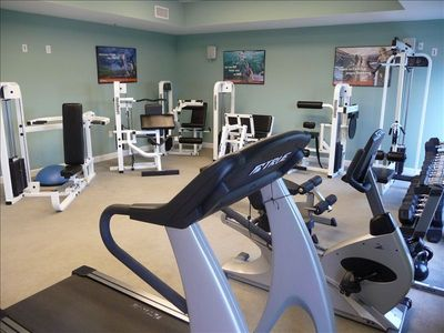 On-Site Workout Room - for the adults