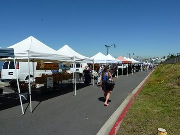 Farmers Market at the Pier- great fresh organic produce…..